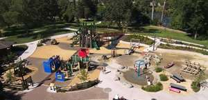 Skinner Butte Park - RiverPlay Discovery Village Playground