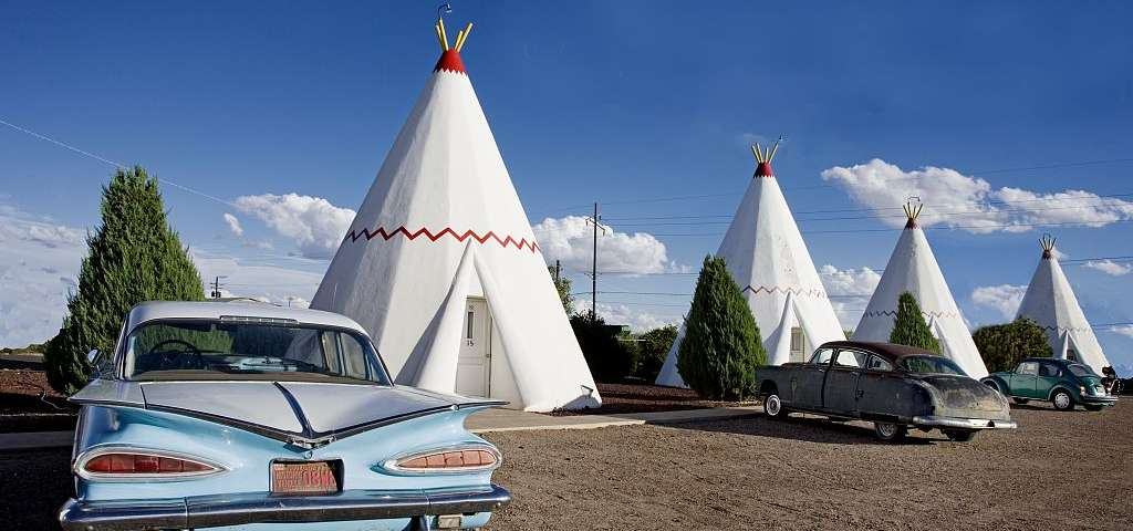 Image result for Wigwam Motel