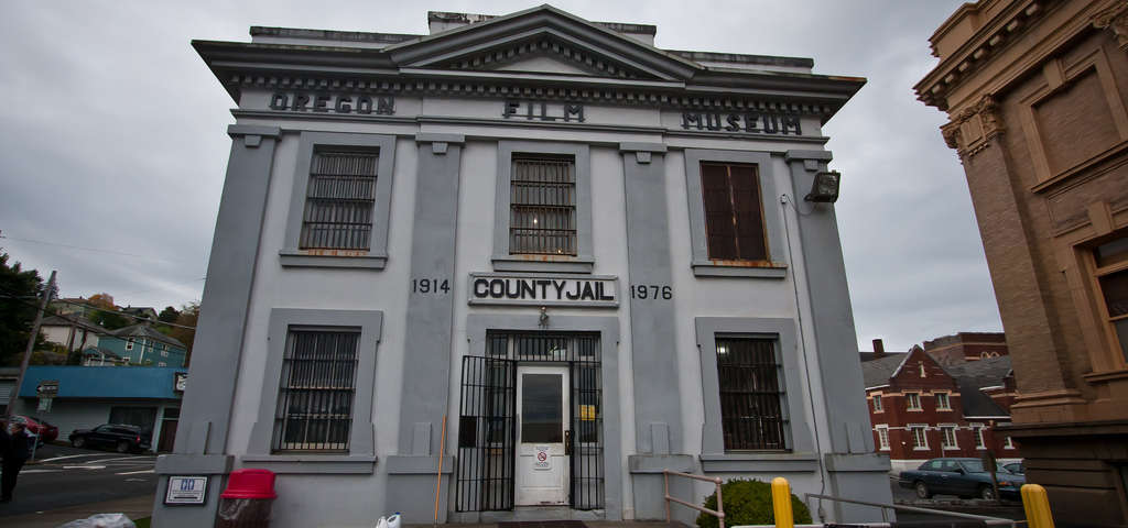 the county jail goonies film location astoria roadtrippers