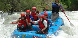 Kodi Whitewater Rafting