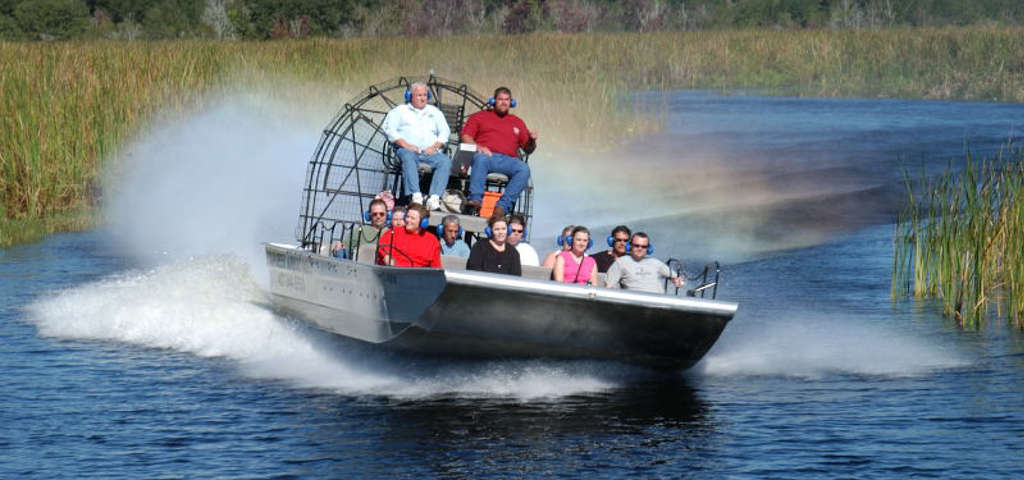 Buffalo Tigers Fla Everglades Airboat Rides Miami Roadtrippers