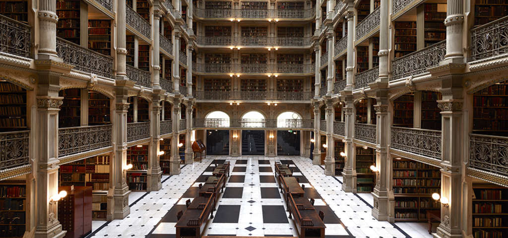 George Peabody Library Baltimore Roadtrippers
