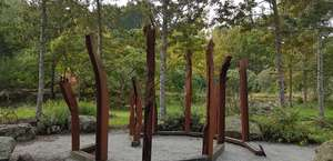 The Sculpture Park at Waitakaruru Arboretum