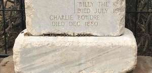Billy The Kid Grave Site