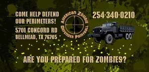 American Zombie Defender Paintball