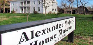 The Alexander Majors House & Barn