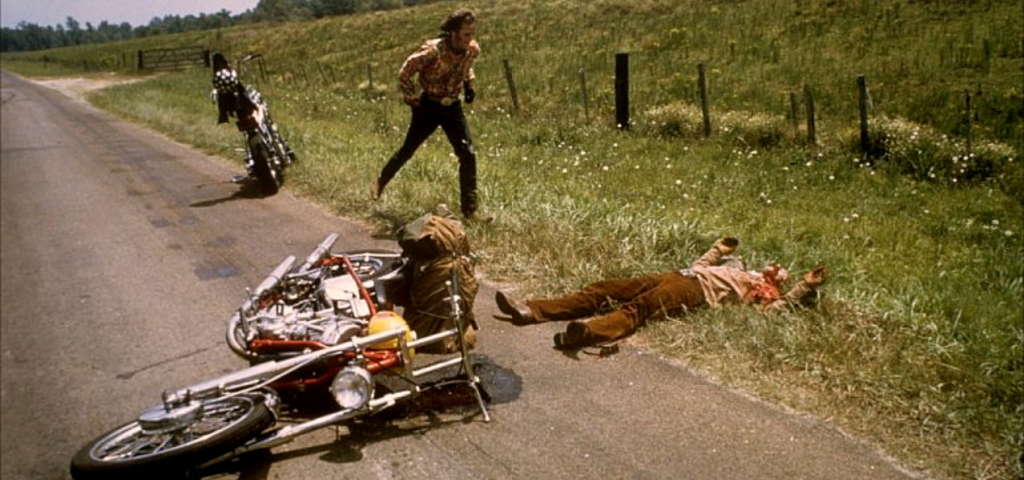 Image result for Easy Rider ending