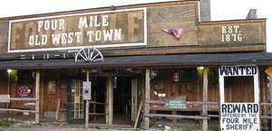 Four Mile Old West Town