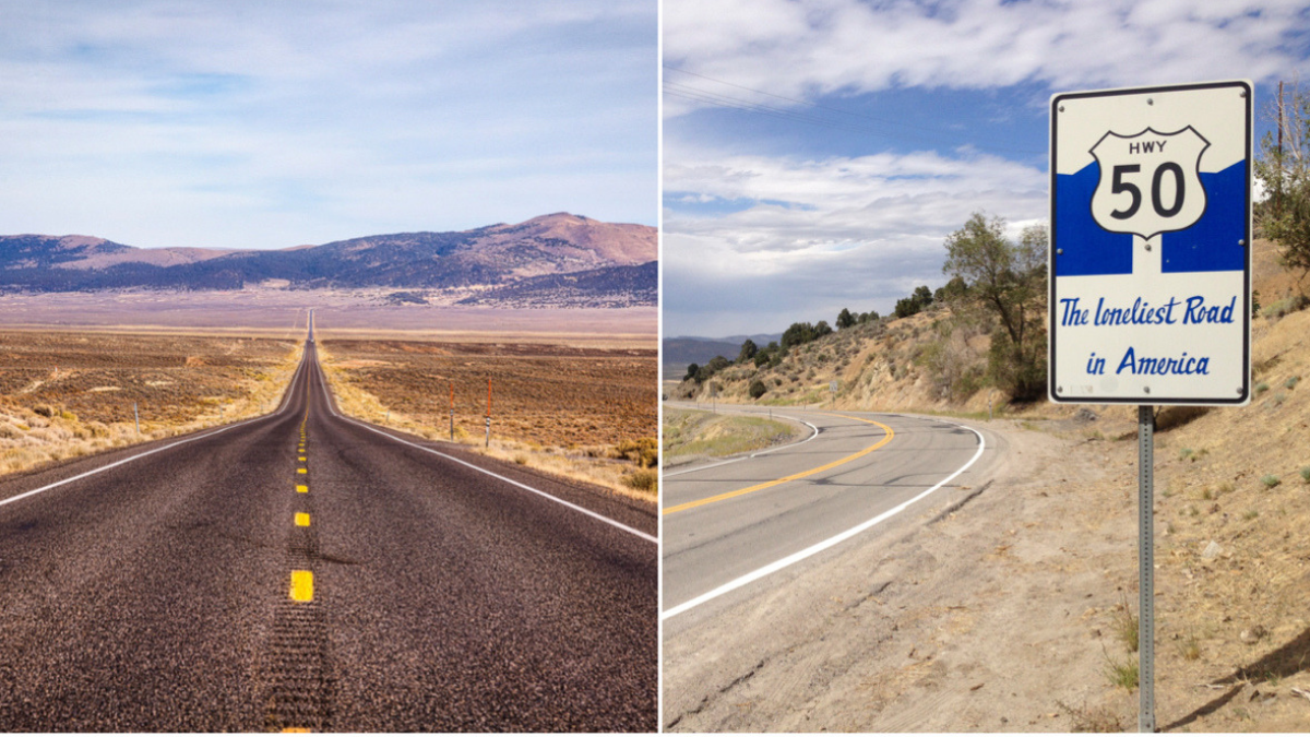 Loneliest Road In America Map.The Loneliest Road Road Trip Along Nevada S Highway 50 Roadtrippers