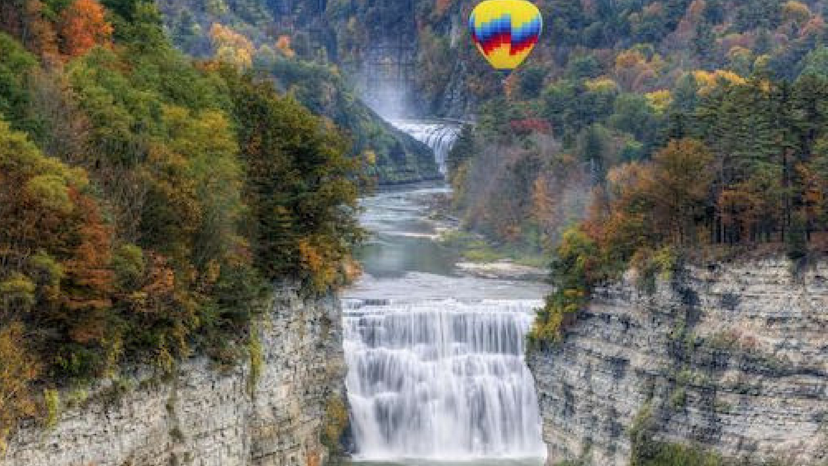 Drop-dead gorgeous doesn't even begin to cover Letchworth State Park