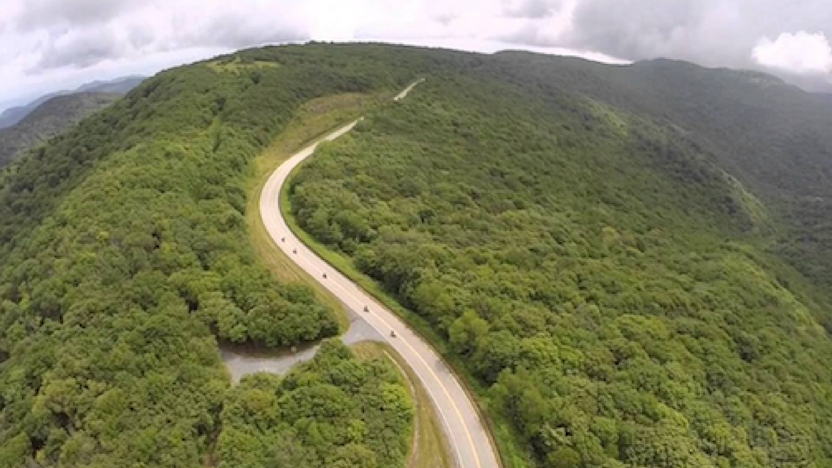 The Cherohala Skyway is a mindblowing and tragically underrated scenic drive