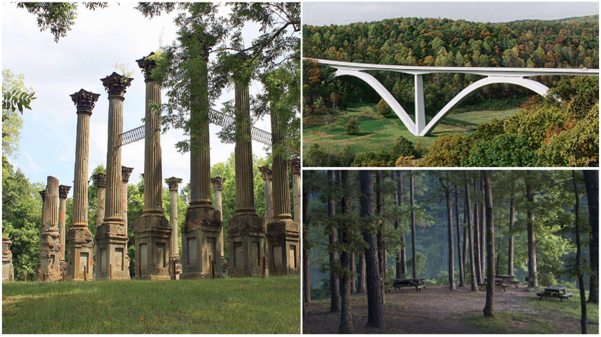 The mysterious and ancient Natchez Trace Parkway takes you 444 miles through 10,000 years of history
