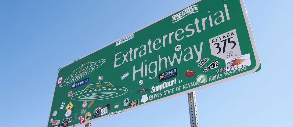 Weekend Road trip down the Extraterrestrial Highway